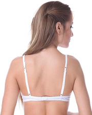 White Bridal Bra , Non Padded - Under Wired Bra - By Kelitha (Italian Brand)