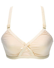 Basic Bra - Skin - Cotton Bra - Non Padded Bra - Non Wired Bra