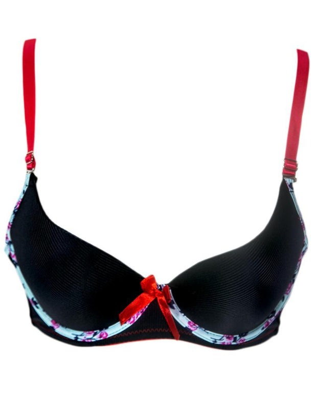 Buy Women Push up Underwire Smoothing Bra - Push Up Bra, Single Padded Bra Underwired Br Online in Karachi, Lahore, Islamabad, Pakistan, Rs.700.00, Ladies Bras Online Shopping in Pakistan, Sexy Bra, 10% Cotton, 10% Spandex, 12% Elastane, 20% Polyester, Bra, Brand_Sexy Bra, Clothing, Colour_Black, Lingerie & Nightwear, Material_Elastane, Material_Foam, Material_Jersey, Material_Microfiber, Material_Nylon, Material_Polyamide, Material_Polyester, Material_Spandex, Size_36B, Size_38B, Size_42B, Size_B Cup, Style_2019, Style_2020, Style_Adjustable Straps Bra, Style_Back Closure Bra, Style_Basic Bra, Style_Beginners Bra, Style_Branded Bra, Style_Bridal Bra, Style_Classic Bra, Style_Deep Cup Bra, Online Shopping in Pakistan - NIGHTYnight