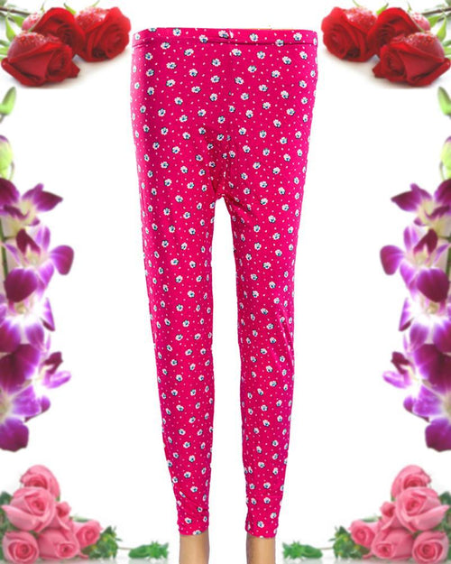 Printed Tights - Jersey Pajama For Women - PP-002