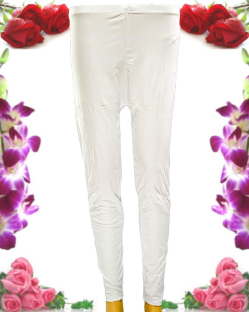Plain Tights High Quality Fashion for Girls - ELS-8085-White