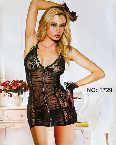 Romantic Short Nightwear For Women - 1729