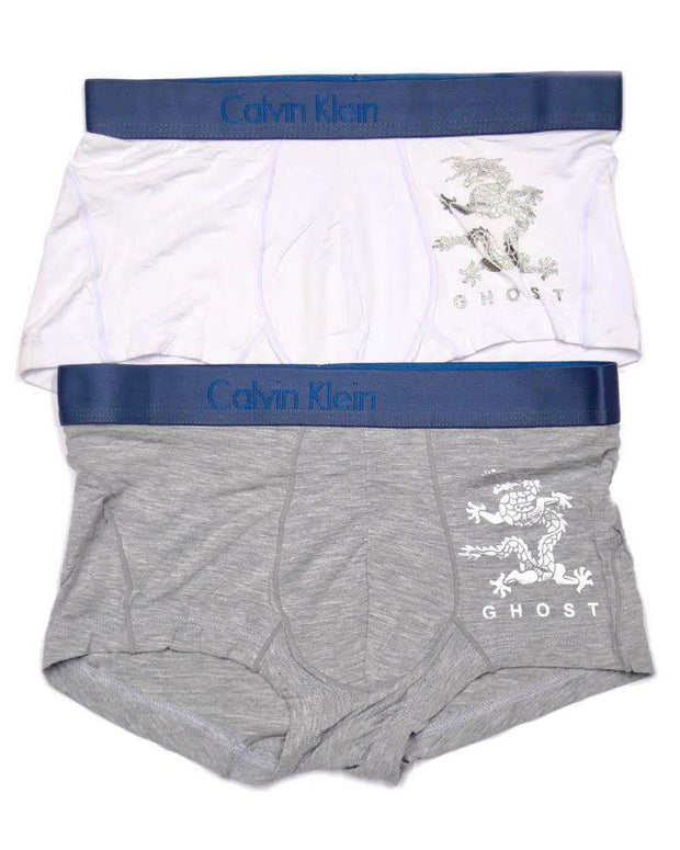 Pack Of 2 CK Cotton Men's Boxer - Branded Boxer For Men - DEAL - Calvin Klein