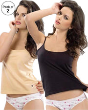 Pack of 2 - Valentine Secret White Camisole 5001