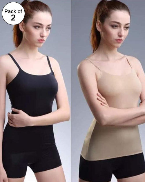 Pack of 2 - Licra Camisole For Women