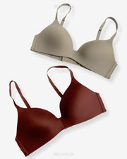 T-Shirt Bra - Soft Padded Imported Stocklot Branded Pushup Bra - Non Wired Bra - Non Padded Bra - Pack of 2