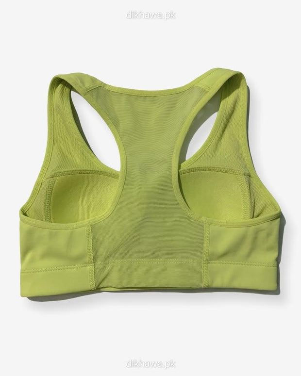 Girls, Women Sports Non Padded Bra   Ladies Jogging Bra Imported Stocklot Branded Sports Bra