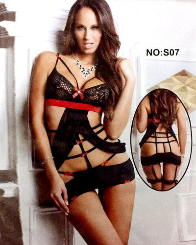 Romantic Short Nighty For Women - S07