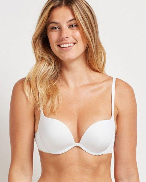 Sexy Push Up Bra - White Push Up Bridal Bra, Single Padded - Underwired Bra - Branded Bra - BY KELITHA (ITALIAN BRAND)