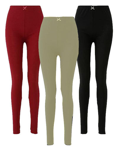 Pack of 3 Sexy Leg Stocking - Fashion tights Full Leg Stocking