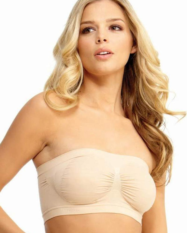 7e67bc510ab02 Pack of 3 - Sexy Tube Padded Top Bandeau Stretchable Strapless Bra ...