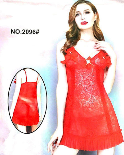 Romantic Sexy Short Net Nighty - Babydoll Bridal Sexy Nighty - 2096