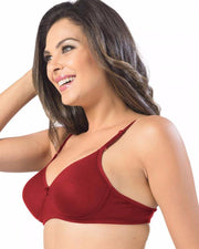 Sonari Catwalk Bra - Red - Non Padded Non Wired - Imported Bra - Bras - diKHAWA Online Shopping in Pakistan