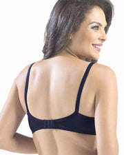 Sonari Loreal Bra - Navy Blue - Non Padded Non Wired - Imported Bra - Bras - diKHAWA Online Shopping in Pakistan