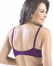 Sonari Loreal Bra - Purple - Non Padded Non Wired - Imported Bra - Bras - diKHAWA Online Shopping in Pakistan