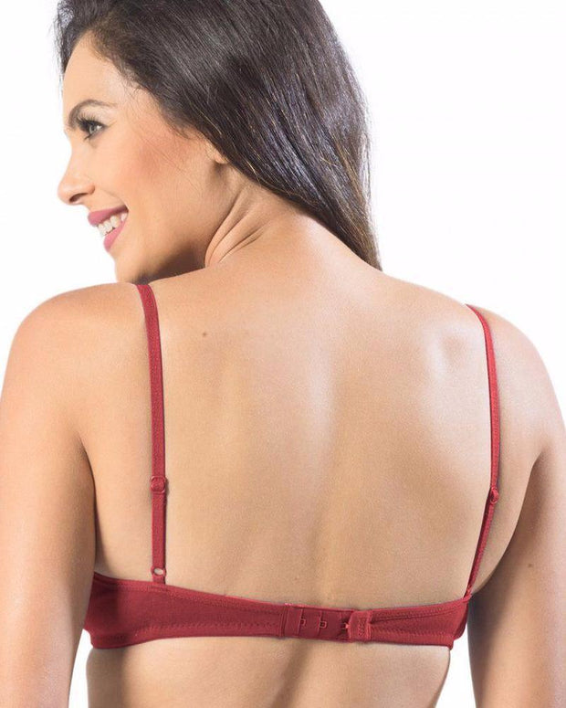 Sonari Smile Bra - Red - Non Padded Non Wired - Imported Bra - Bras - diKHAWA Online Shopping in Pakistan