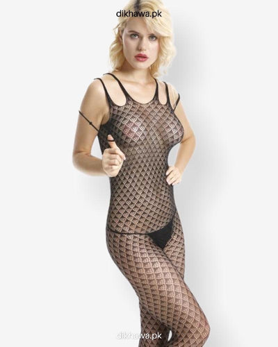 Hkmeair Sexy Net Bodystocking No 8004