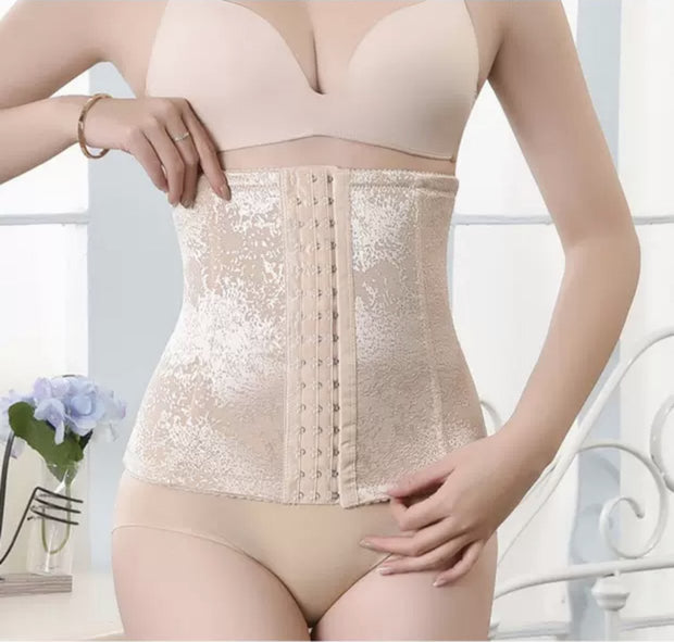 Ladies Belly Belt With Zipper Closure