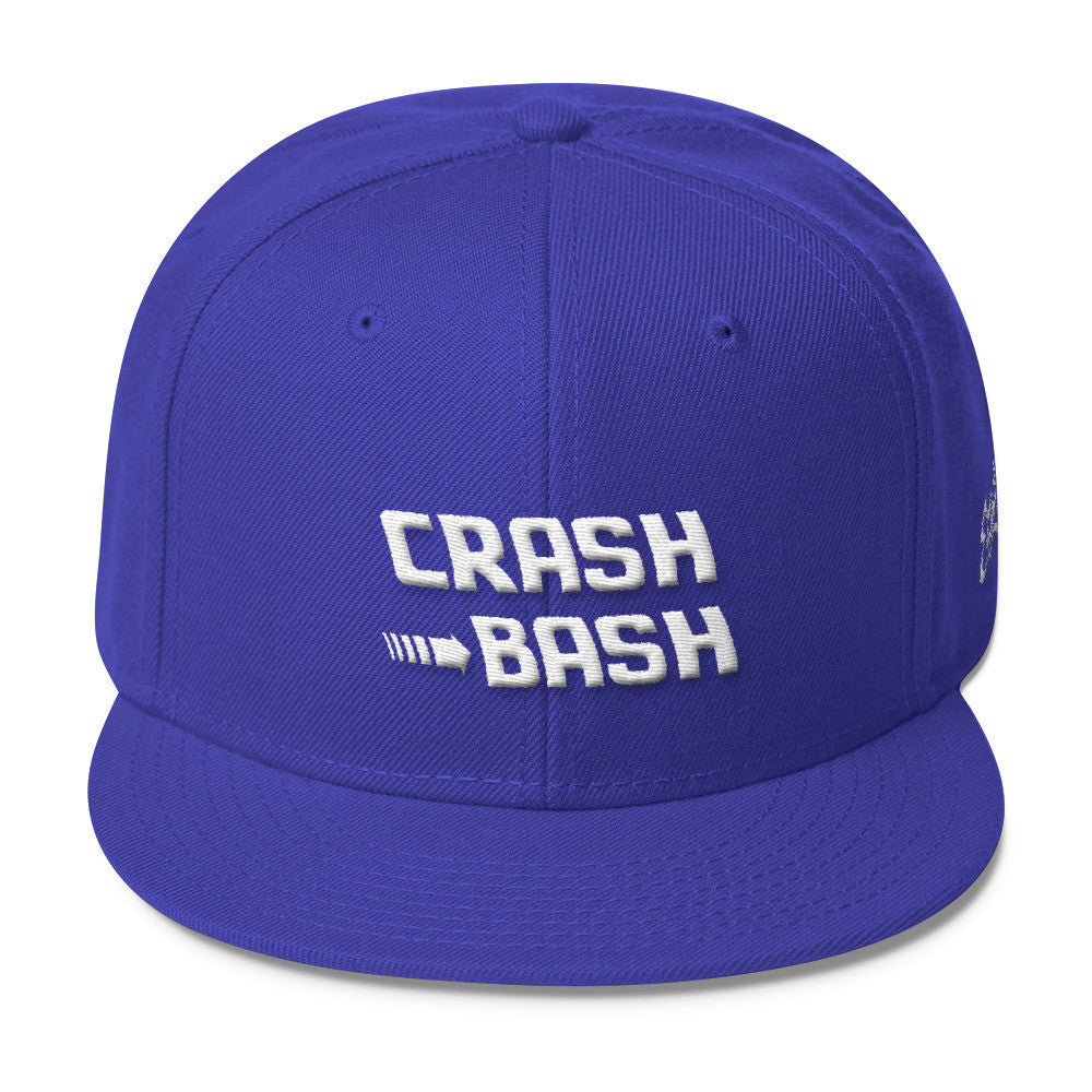 Crash Bash - Wool Blend Snapback