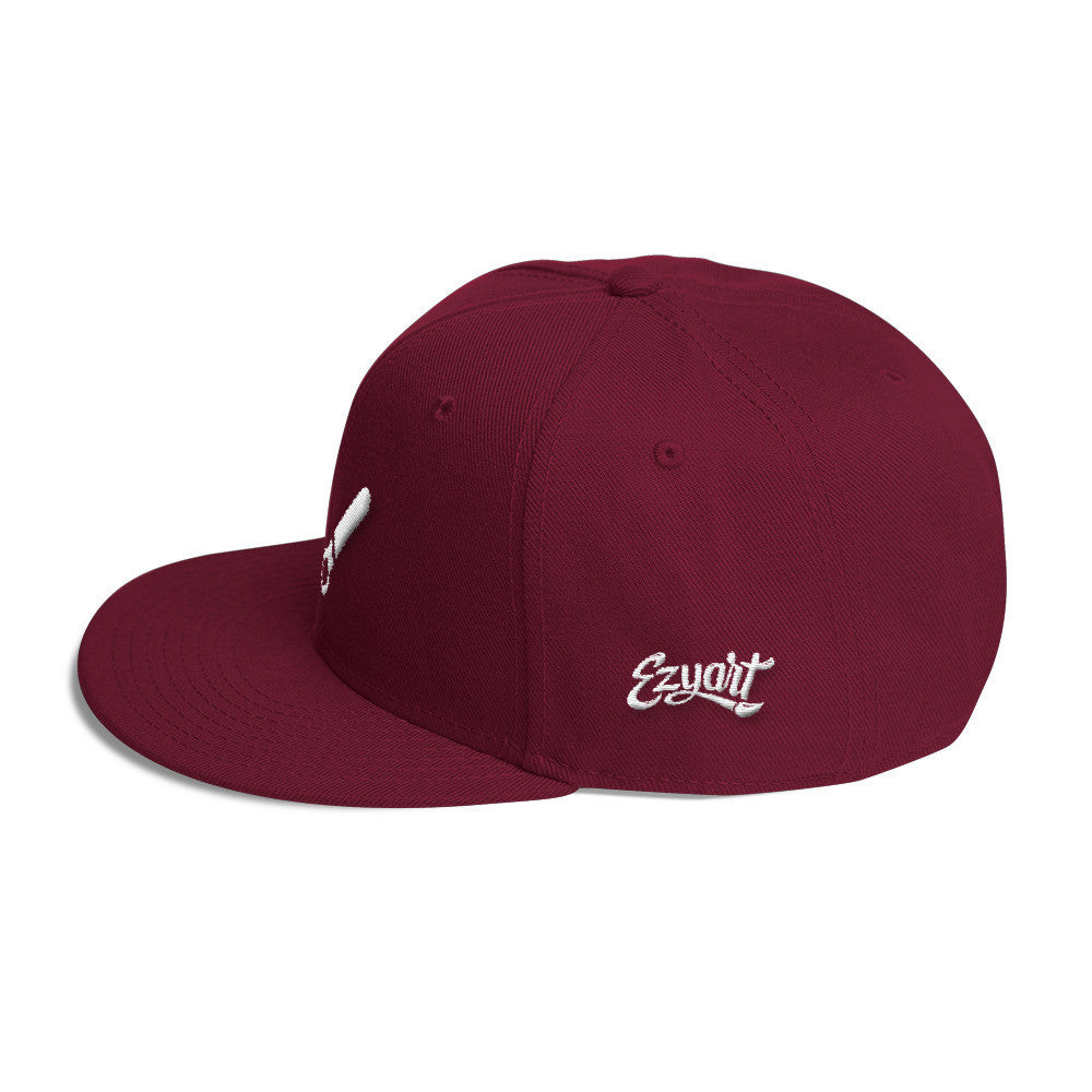 Brush - Wool Blend Snapback