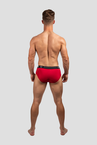 JEORGE PEEP MESH BRIEF