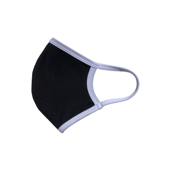 ANTI-MICROBIAL F-MASK BLACK WHITE