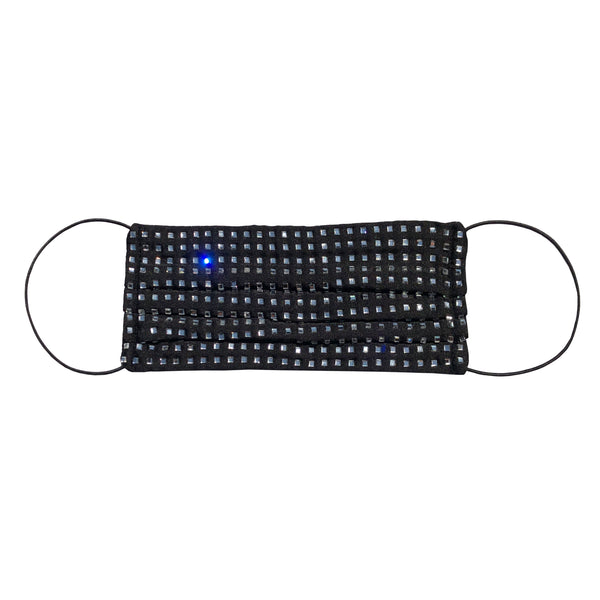 SWAROVSKI CRYSTAL F-MASK - BLACK