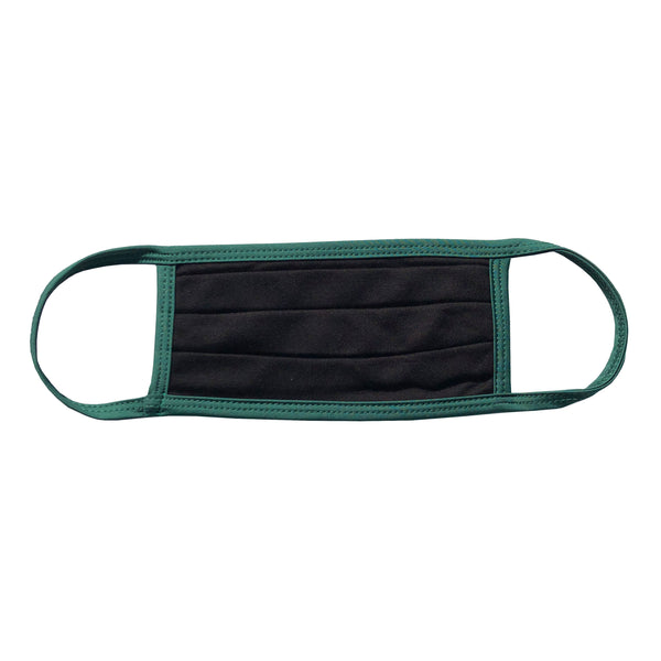 BLACK-GREEN SQUARE MASK