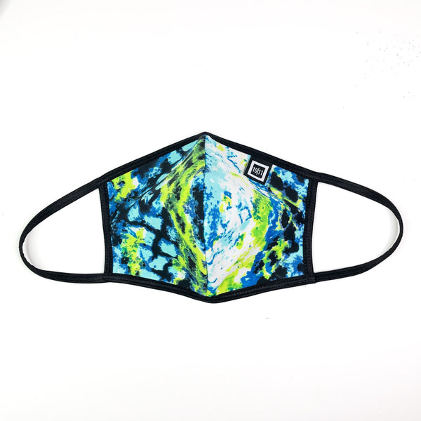SKYLAR SWIM ABSTRACT PRINT FACE MASK SET