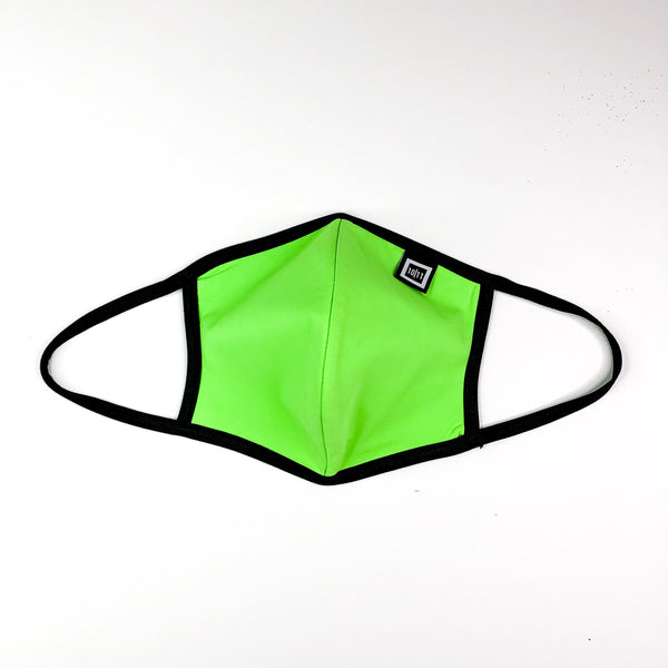 SKYLAR SWIM BRIEF NEON GREEN FACE MASK SET