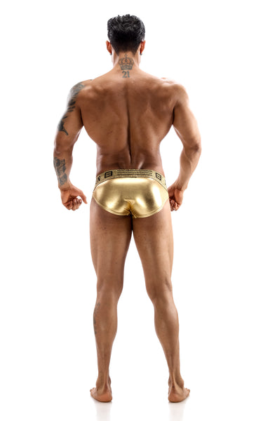PETER BRIEFS METALLIC