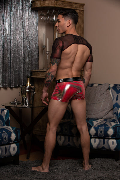 ADAM CANDY CANE BOXER BRIEF