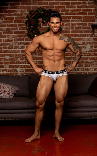 LEVI HOLIDAY WHITE HOLOGRAM BRIEF