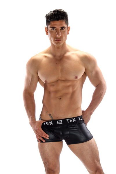 ADAM METALLIC BOXER BRIEFS-3 PACK