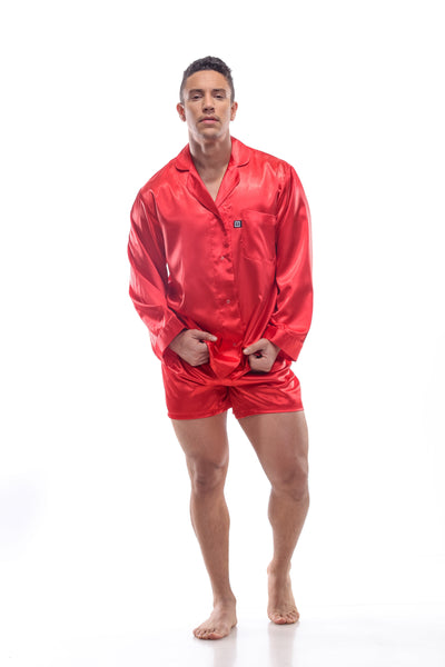 PAJAMA SATIN SHIRT