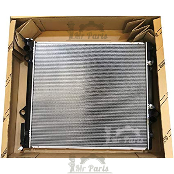Double Cell, Toyota Lexus Plastic Aluminum Radiator Assembly, for Lexus GX470 2003-2009