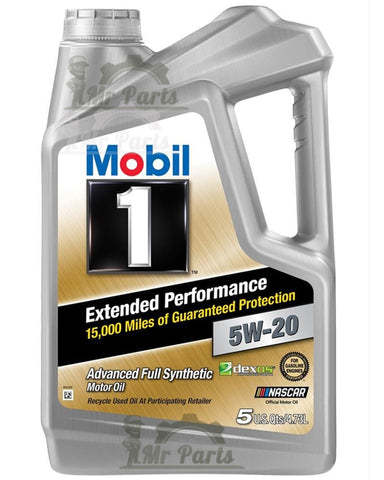 Mobil 1 5W-20 Extended Performance Synthetic Engine Oil 5-Quarts