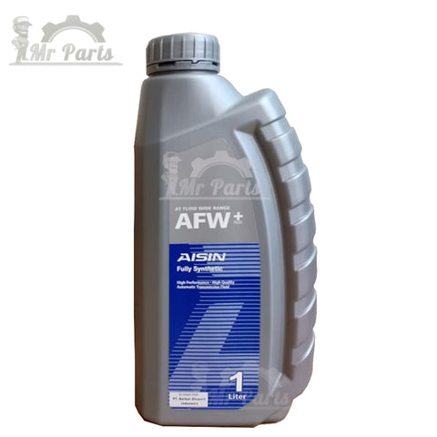 AISIN Fully Synthetic ATF (AFW+) Automatic Transmission Fluid - 1 Litre