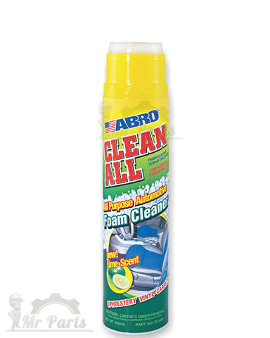 Abro FC-650 Clean All Foam Cleaner, New Lime Scent (650 ml)