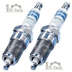 Bosch 8101 Double Platinum Spark Plug, Pack of 2 - 14mm Thread