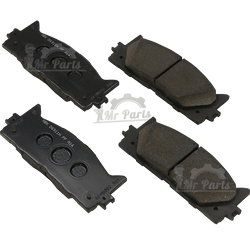 Genuine Toyota (04465-07010) Front Brake Pad Kit