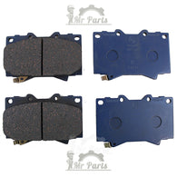 Toyota (04465-60320 / 04465-YZZE1) Front Brake Pad Set for Toyota 4Runner Hilux Land Cruiser Tacoma