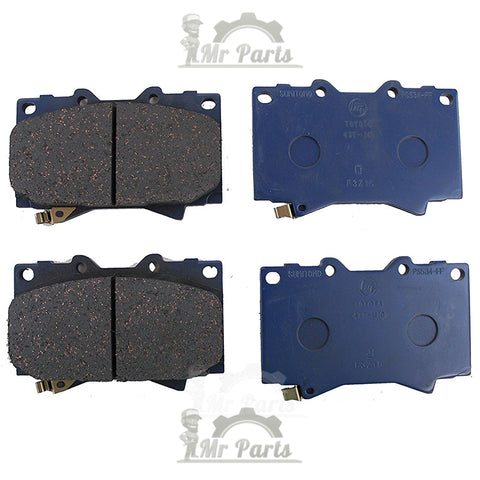Genuine Toyota (04465-60230) Front Brake Pad Set for Toyota Tundra