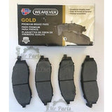 CARQUEST GOLD Ceramic GNAD914 Front Brake Pad kit, fits 2013-2015 Honda CR-V