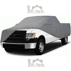 100% Waterproof Double Layer PVC Non-PP Cotton Universal Car Cover fits GMC