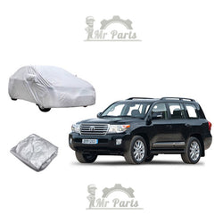 100% Waterproof Double Layer PVC Non-PP Cotton Universal Car Cover fits Land Cruiser, Prado