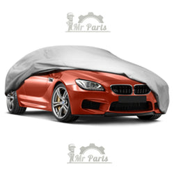 100% Waterproof Double Layer PVC Non-PP Cotton Universal Car Cover for Sedans