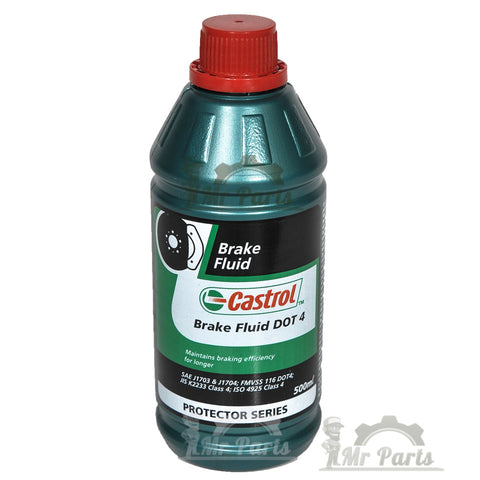Castrol Brake Fluid DOT-4, Protector Series - 500 ml / 17 Oz