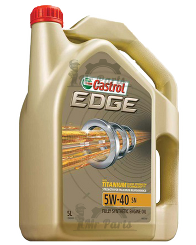 Rørig Castrol EDGE 5W-40 | Motor Oil, Engine Oil | Fully Synthetic Oil RE-27
