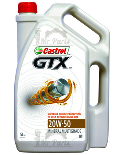Castrol GTX Anti-Sludge 20w-50